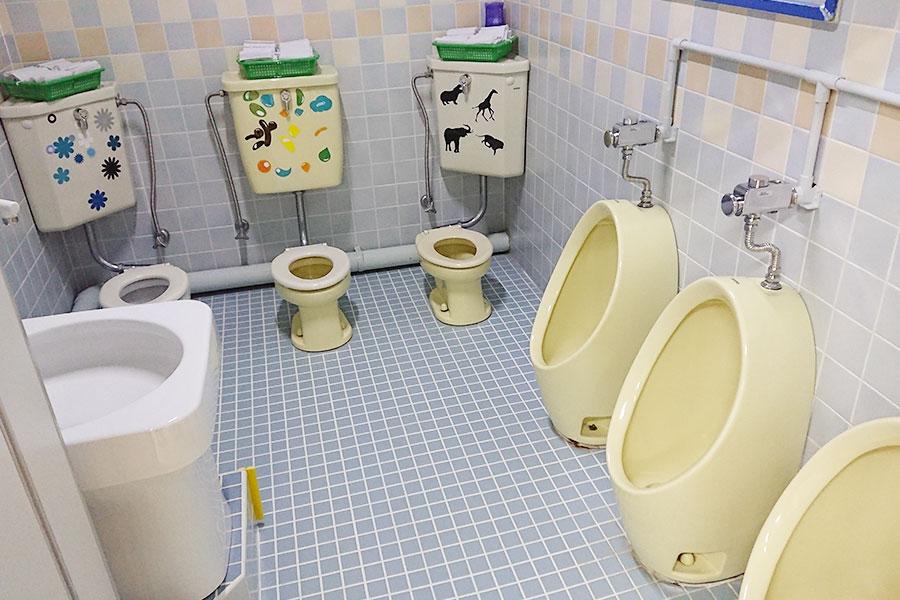 2歳児専用のトイレ