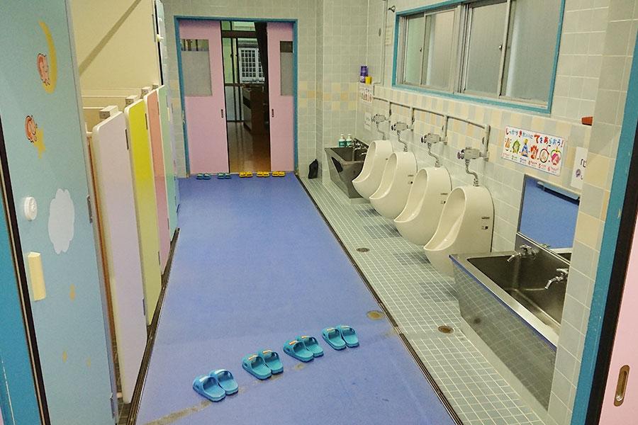 3~5歳児共同のトイレ